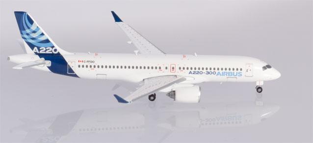 Herpa Wings Airbus A220-300 1:400 Registration C-FFDO