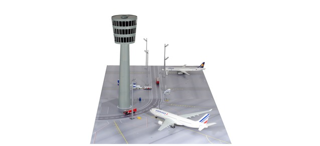 Herpa Wings Scenix - Airport Tower - construction kit 1:200