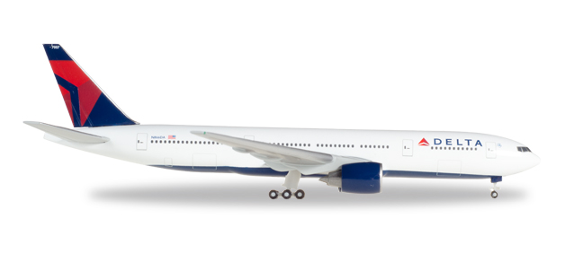 Herpa Wings Delta Air Lines Boeing 777-200 1:500 Registration N866DA