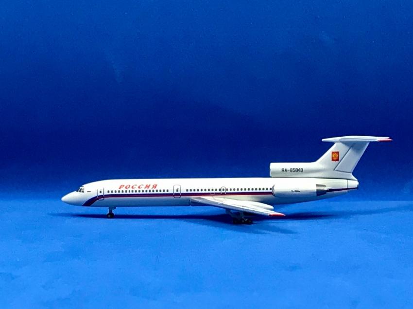 Rossiya - Special Flight Detachment Tupolev TU-154M 1:500 Registration RA-85843