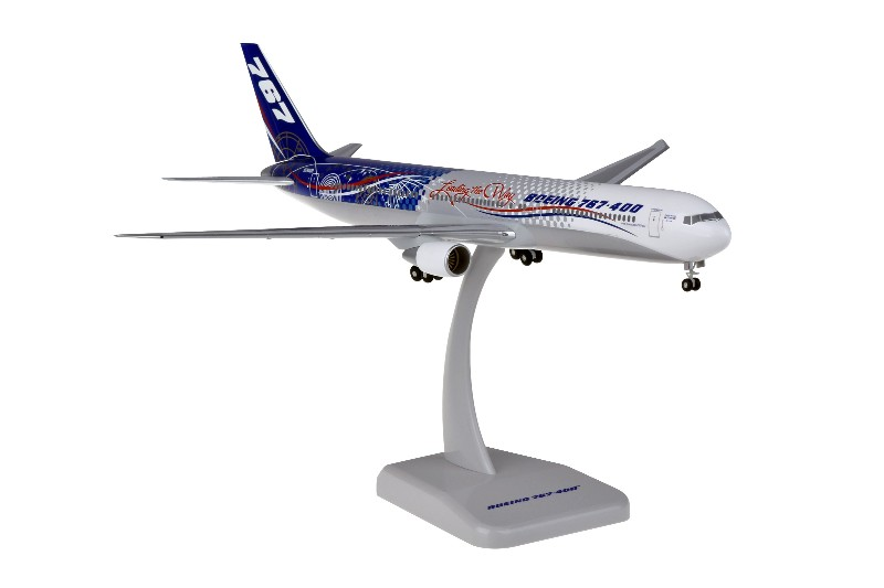 "Hogan Wings Boeing 767-400 1:200 ""Leading The Way"" Registration N76400"