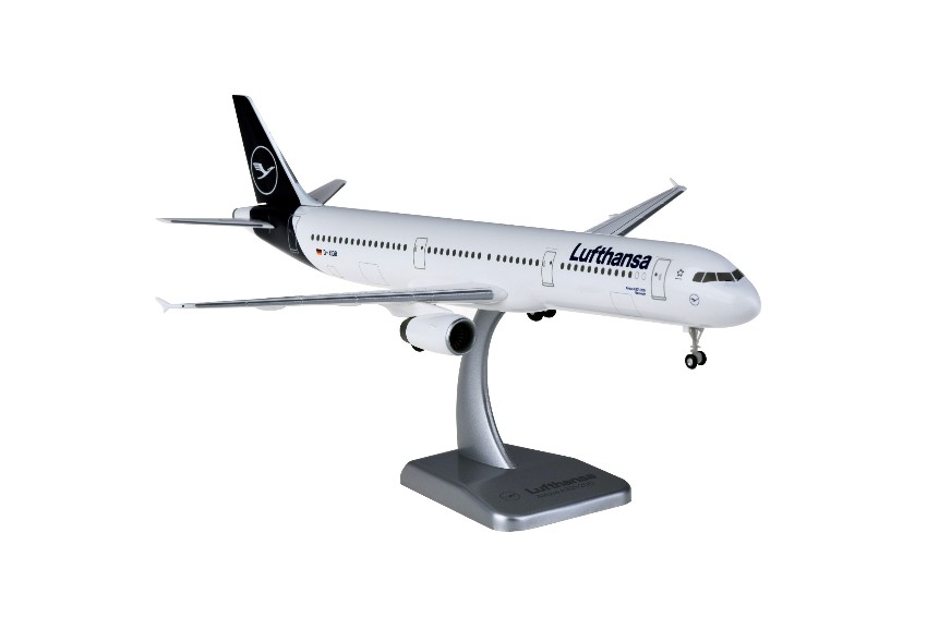 Hogan Wings Lufthansa Airbus A321 1:200 New Livery