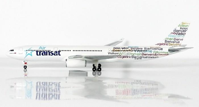 SKY500 Air Transat Airbus A330-300 1:500 Registration C-GKTS 加拿大大西洋航空