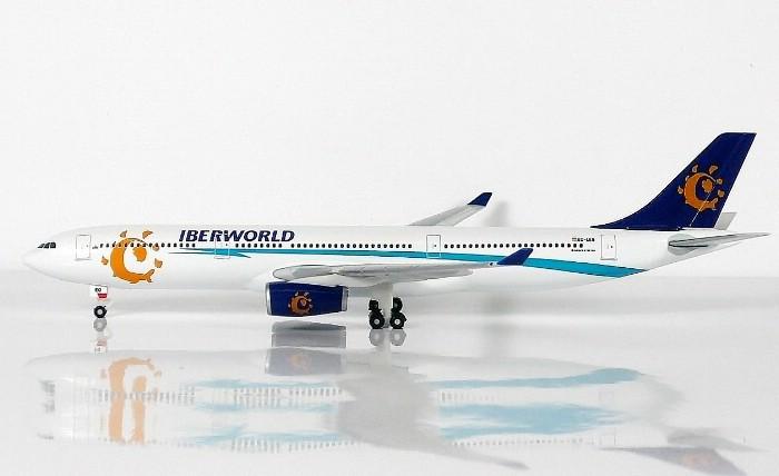 SKY500 Iberworld Airlines Airbus A330-300 1:500 Registration EC-LEQ 西班牙