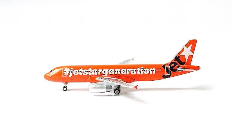 SKY500 Jetstar Airways Airbus A320-200 1:500 Low farews forever Registration VH-VGF 捷星航空