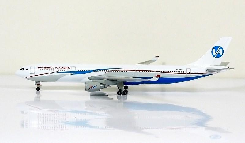 SKY500 Vladivostok Air Airbus A330-300 1:500 Registration VQ-BEU