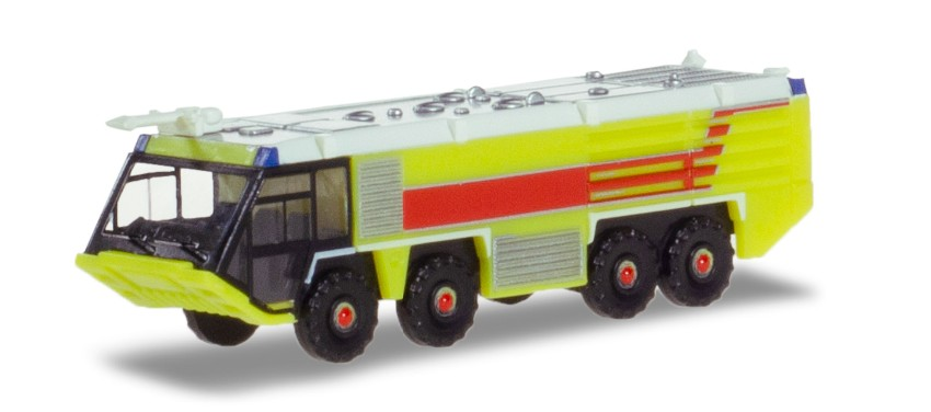 Herpa Wings Airport Fire Engine-Lime green 1:200