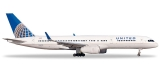 Herpa Wings United Airlines Boeing 757-200 1:500 Registration N34131