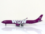 SKY500 WOW Air Airbus A330-300 1:500 Registration TF-WOW Limited Edition